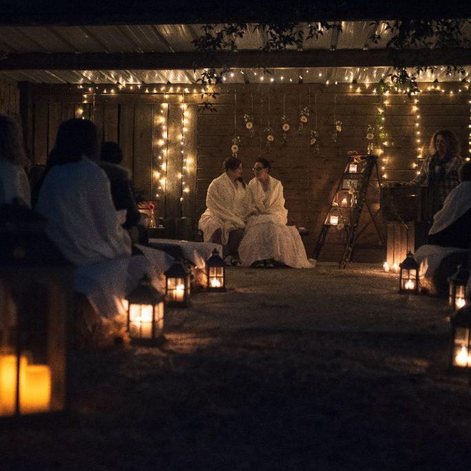 les bulles de bonheur _ mariage gay _ ceremonie laique de nuit _ ceremonie laique champetre & conver (37)
